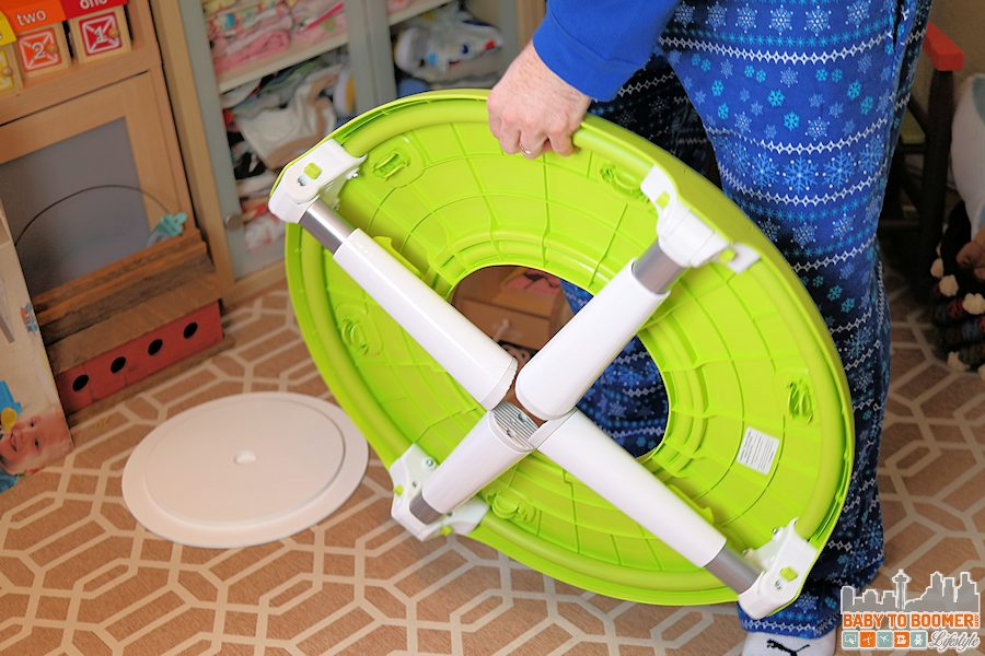 Must-Have Baby Gear - Oribel PortaPlay Convertible Activity Center - legs fold under ad
