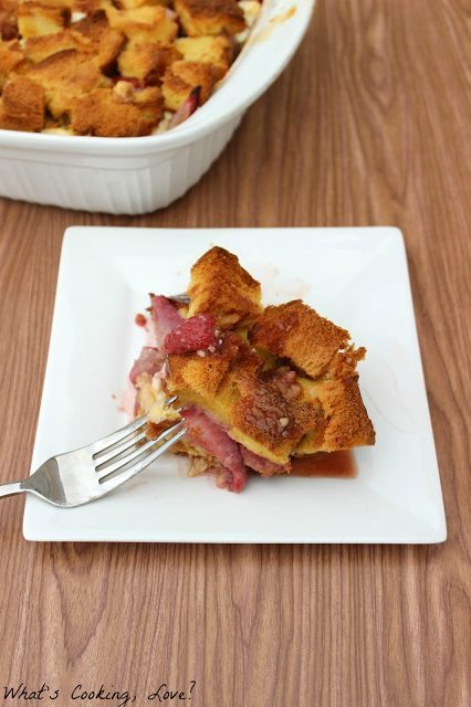 Overnight Strawberries and Cream French Toast