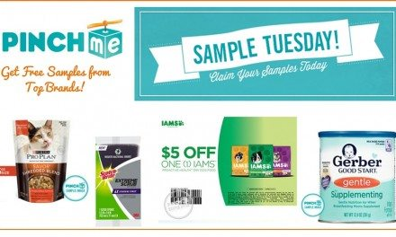 PINCHme: Free Product Samples Every Tuesday