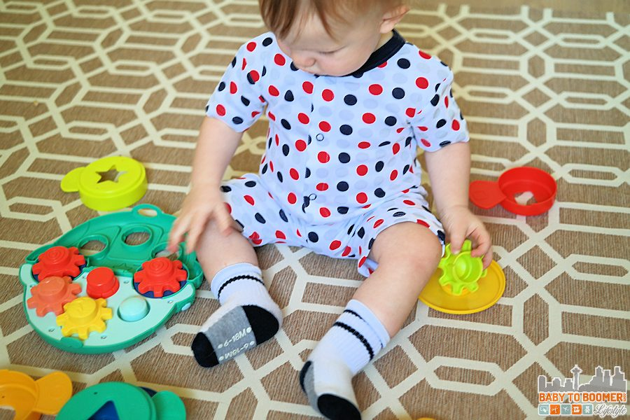 Ruggable: A 2-Layer Washable Area Rug for the Playroom - water-resistant and machine washable in modern patterns and colors. No rubber backing! ad