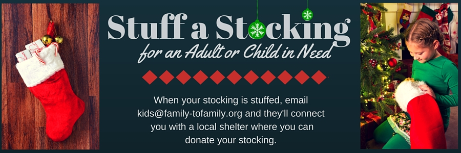 Stuff a Christmas Stocking for an Adult or Child in Need