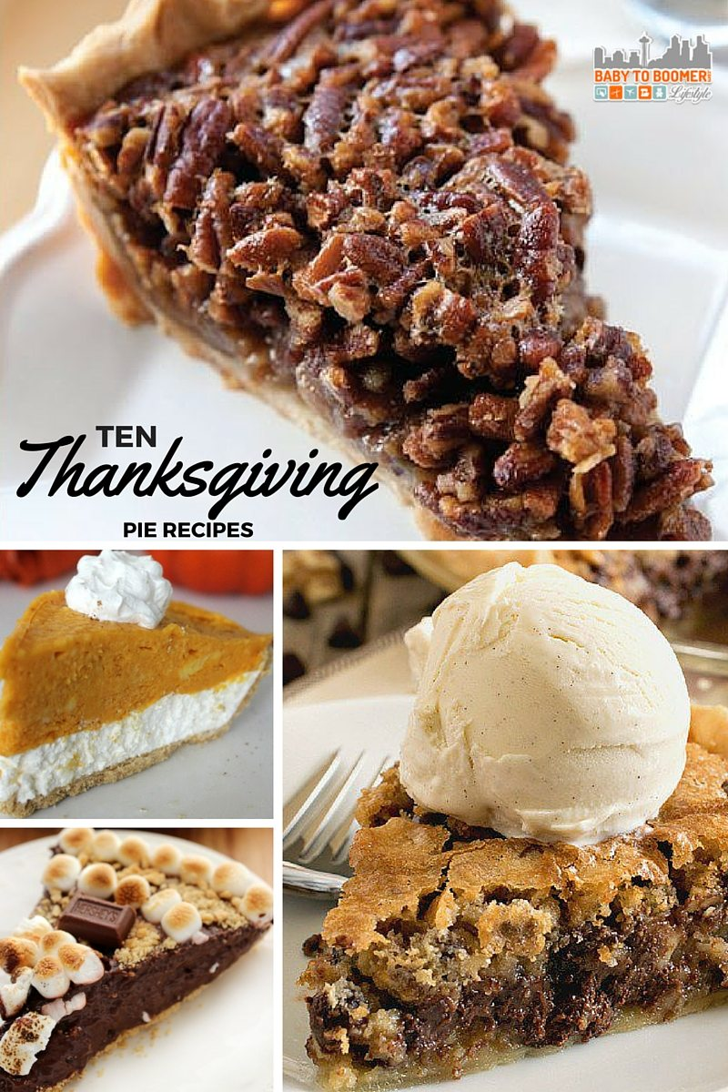 10 Thanksgiving Pie Recipes