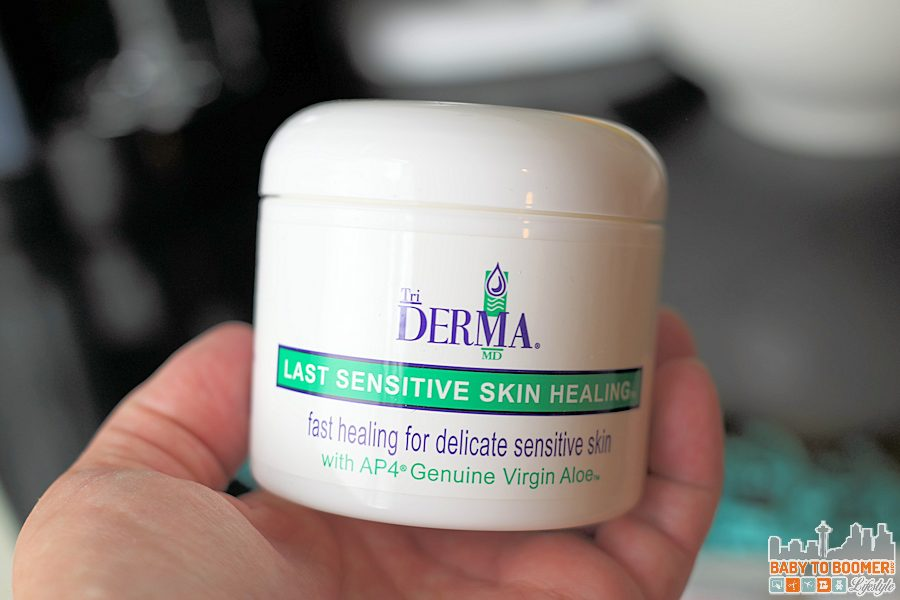 TriDerma Last Sensitive Skin Healing Cream TriDerma MD: Organic Skin Care for Mom and Baby (Grandma too!) @TriDerma ad