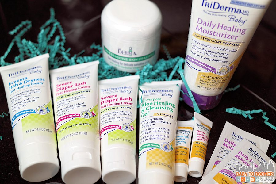TriDerma MD: Organic Skin Care for Mom and Baby (Grandma too!)