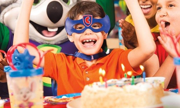 Chuck E. Cheese's: Stress-Free Birthday Party Packages #chuckecheese