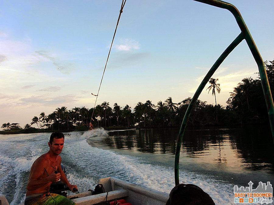 Isla Canas - Hostal Pachamama Panama - Wakeboarding