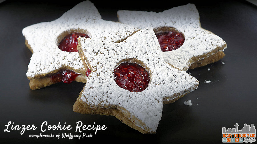 Linzer Cookie Recipe For the Holidays by Maria Puck