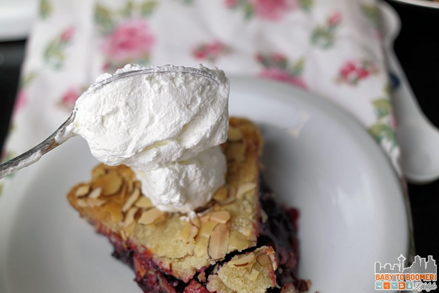 Razzleberry Pie with Almond Topping & Almond Whipped Cream - Marie Callender's Pies - Homemade Goodness With My Special Touch - ad