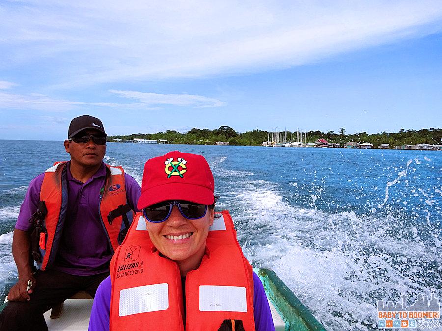 Panama - Bocas Del Toro - Water Taxi