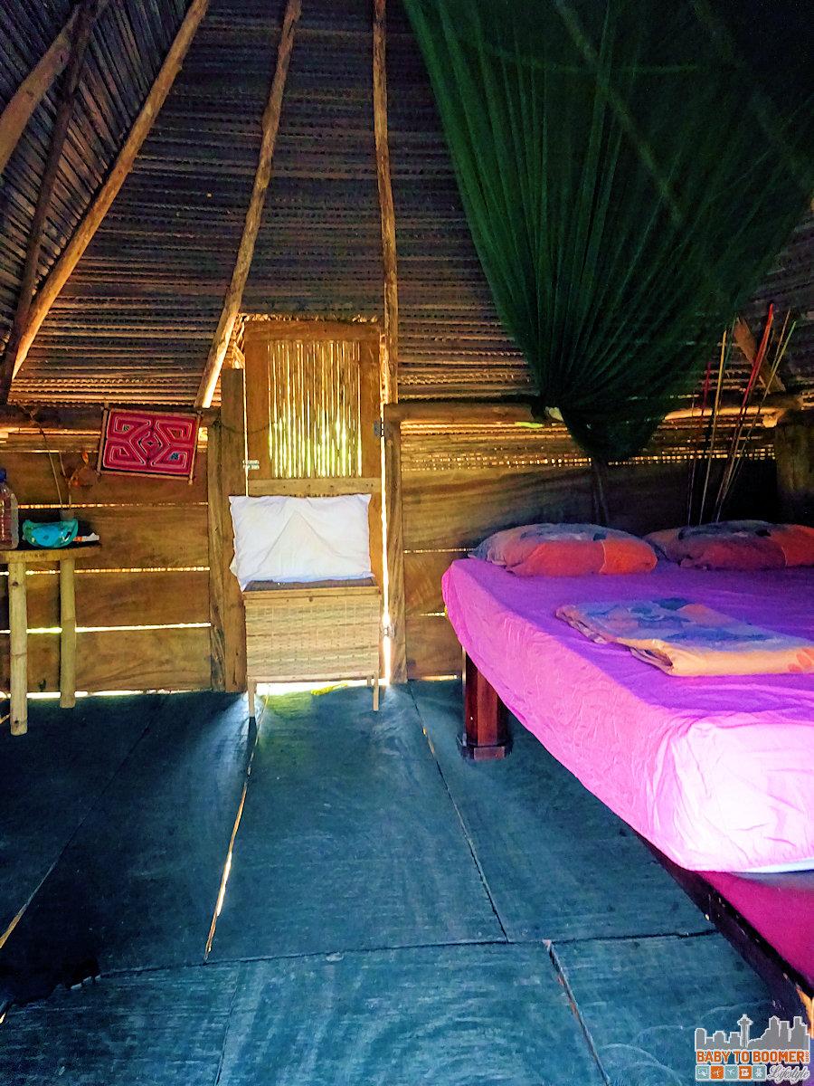 Panama - Isla Canas - Hostal Pachamama Room