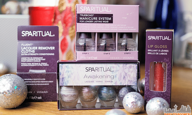 SpaRitual: Organic Vegan Nail Lacquers and Lip Gloss