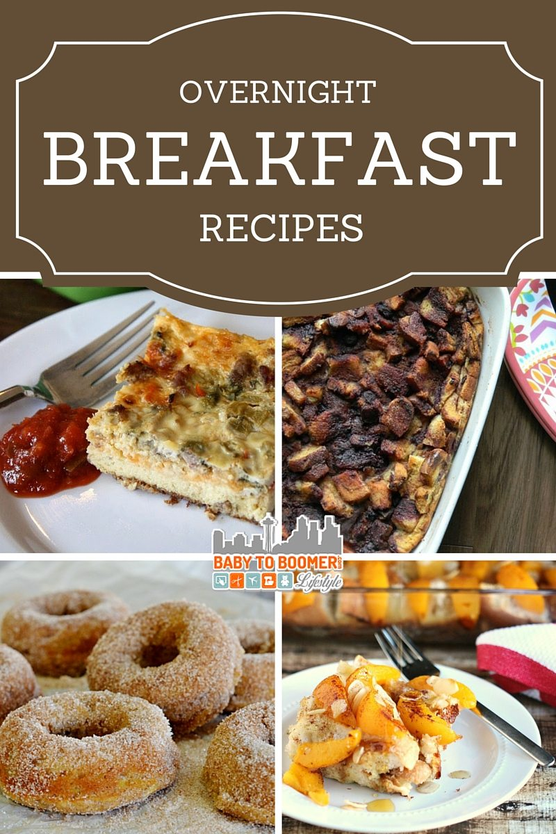 Overnight breakfast recipes - perfect for holiday mornings!