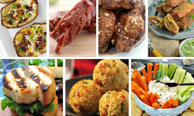 10 Super Bowl Appetizer Recipes To Win Halftime