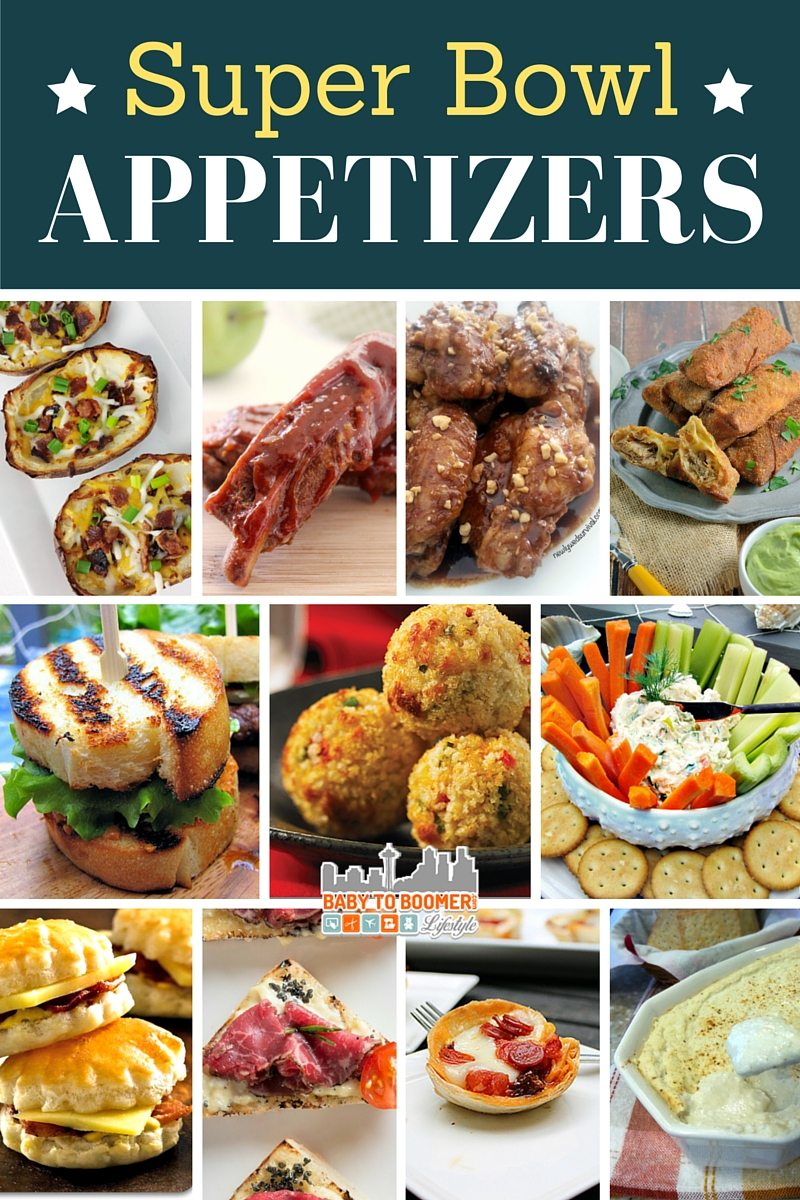 Appetizer recipes perfect for a Super Bowl party