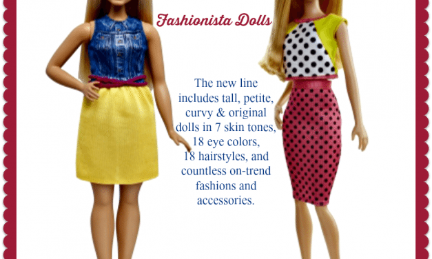 Barbie Has Evolved: New Curvy, Tall, & Petite Dolls Available Now