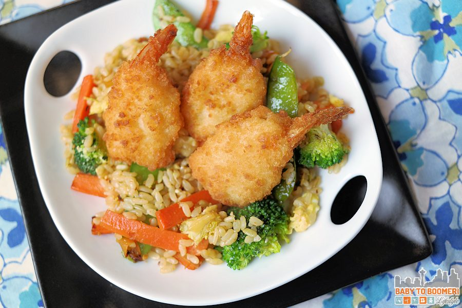 Butterfly Shrimp Fried Rice with Fruity Sweet & Sour Sauce #MoreCoastal @SeaPakShrimpCo ad