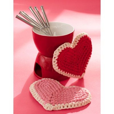 Heart Hot Pad Free Crochet Pattern