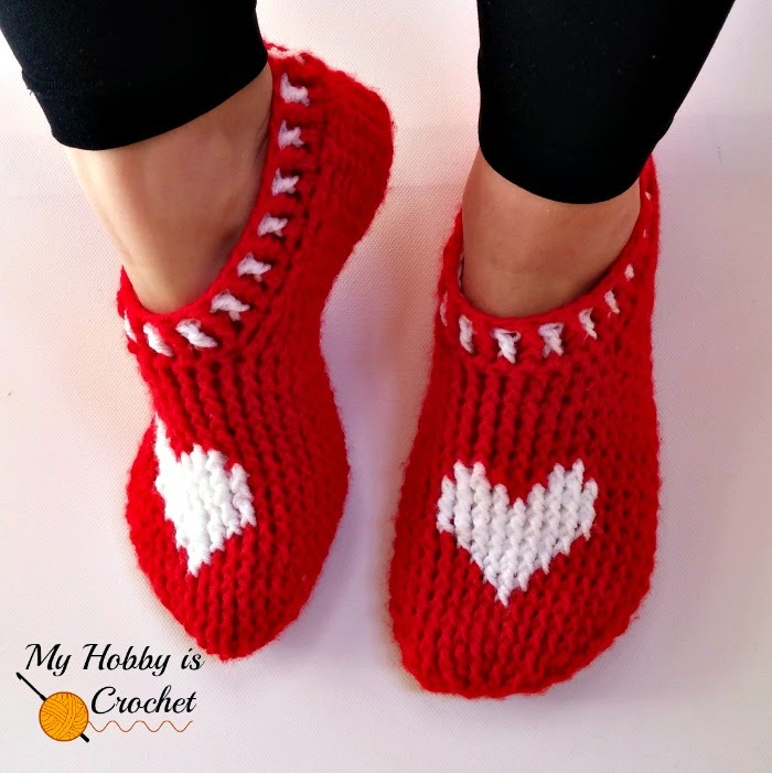 Free Crochet Pattern A Day : Crochet Hearts: Free Patterns for Valentines Day