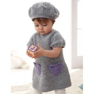 I heart my Dress Free Crochet Pattern