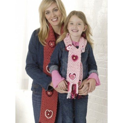 Mommy and Me Crochet Scarf Pattern