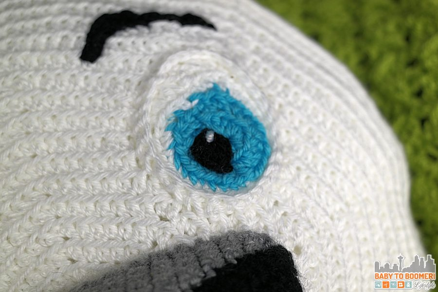 Norm of the North Crochet Pattern - Finished Eye - Meet Norm of the North and Free Crochet Pattern #NormOfTheNorth #Sweepstakes ad