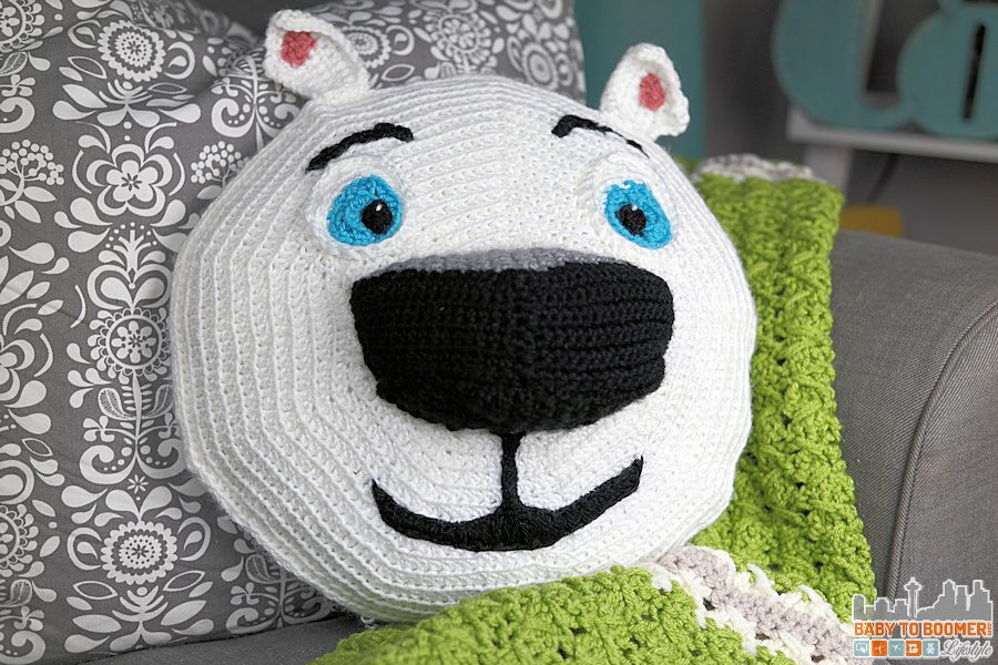 Norm of the North Crochet Pattern - Head - Meet Norm of the North and Free Crochet Pattern #NormOfTheNorth #Sweepstakes ad