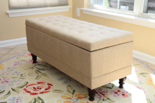 Create Extra Storage with Unique Furniture Like This Storage Ottoman
