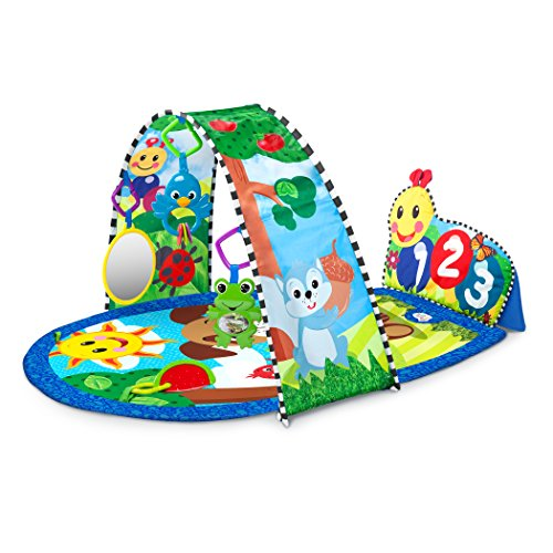 Baby Products Expert Kathleen Tomes Shares the Five Best Baby Playmats - Caterpillar Kickin' Tunes Activity Gym™