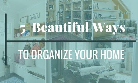 5 Beautiful Ways to Get Organized for the New Year