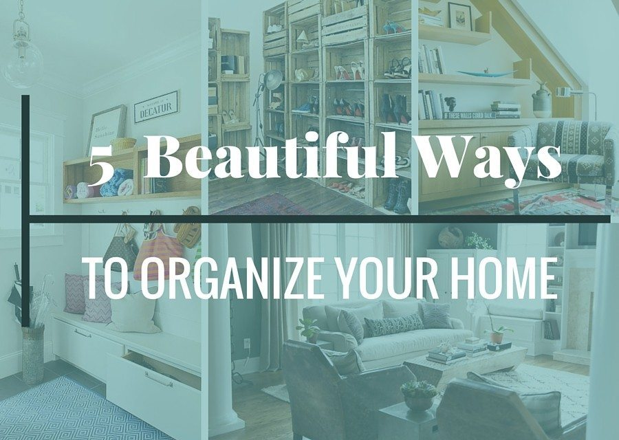 5 beautiful ways to get organized for the new year. Black Bedroom Furniture Sets. Home Design Ideas