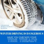 Winter Driving is Dangerous: Have You Checked Your Tire Tread? #DaretoCompare