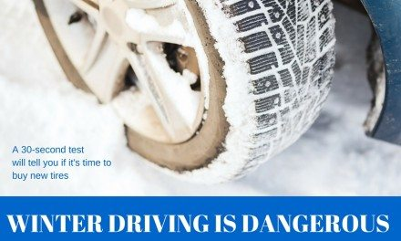 Winter Driving is Dangerous: Check Your Tire Tread
