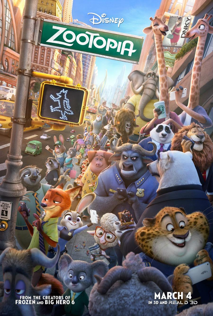 Disney Zootopia Poster