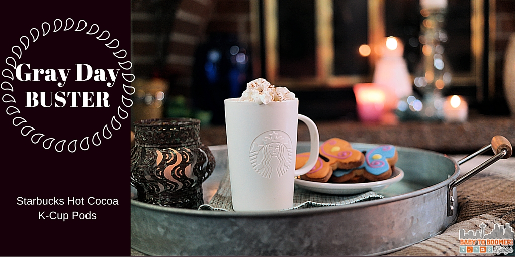 Gray Day Buster Starbucks Hot Cocoa K Cup Pods