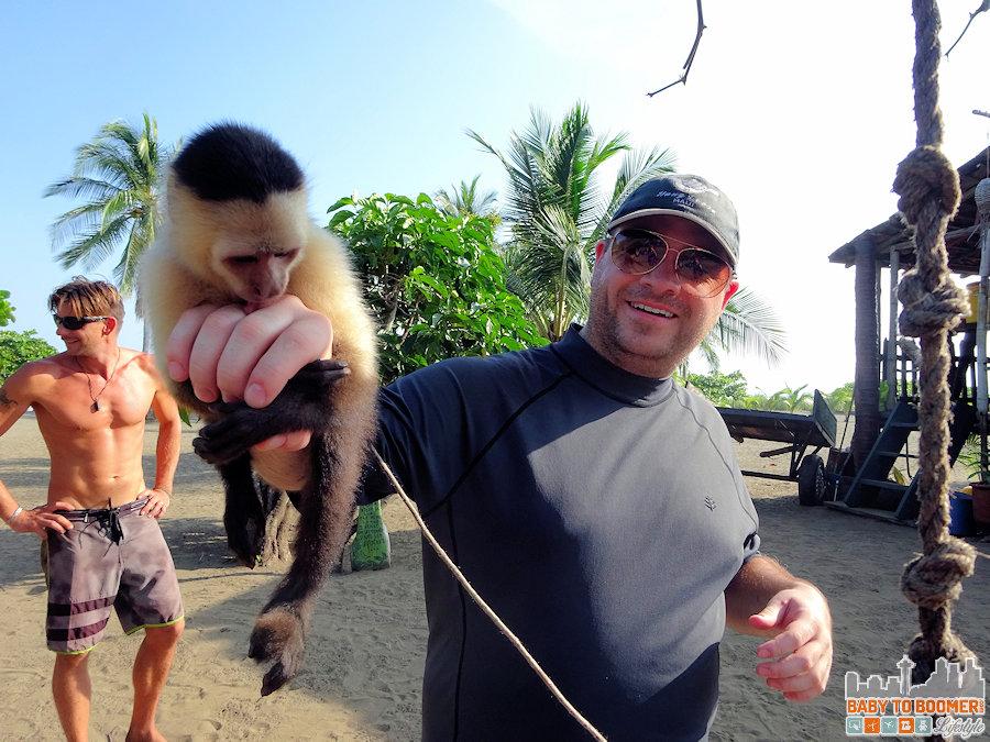Panama - Isla Canas - Hostal Pachamama Monkey Time