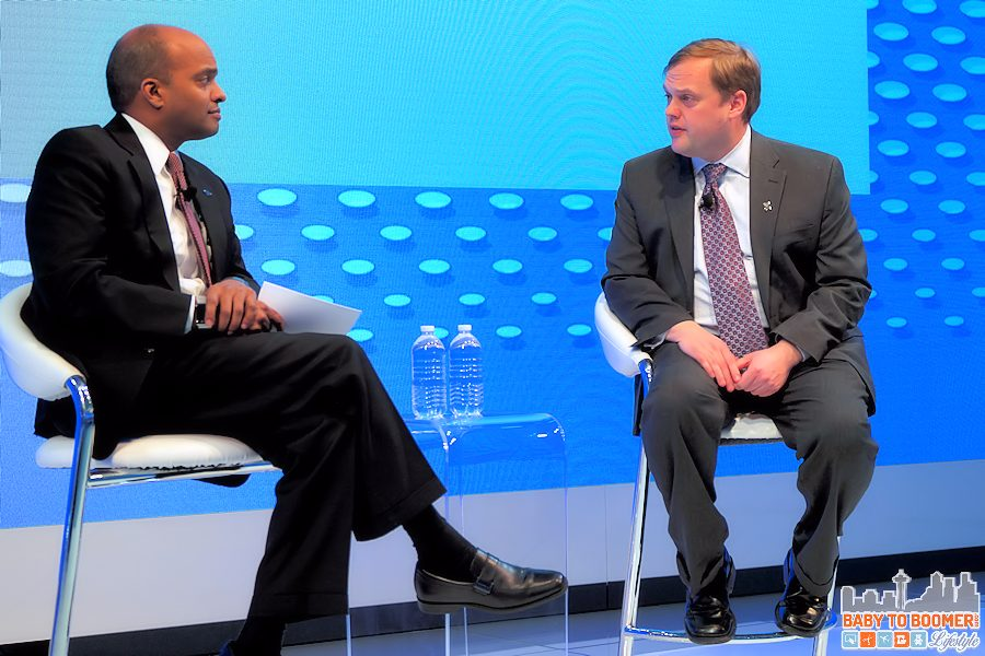 Raj Nair, Ford - Edwin Olson, University of Michigan discuss autonomous vehicles at NAIAS 2016