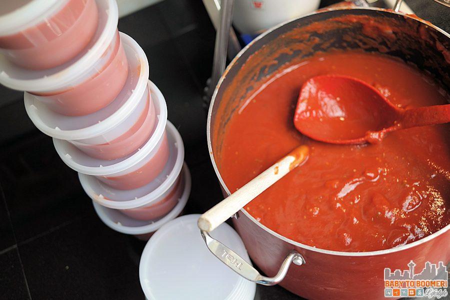 Red Sauce - Freezer Cooking OAMC Bulk