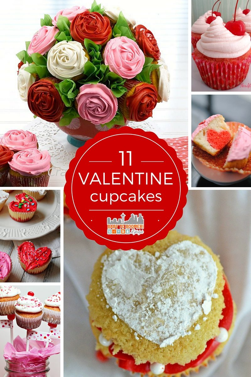 11 Valentine 39 s Day Cupcake Recipes