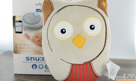 snu:mee Baby Stars Rock2Sleep Baby Monitor for Music Lovers