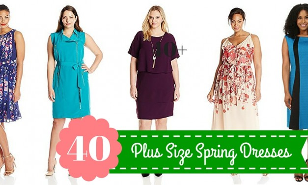 40 Plus Size Spring Dresses You'll Love