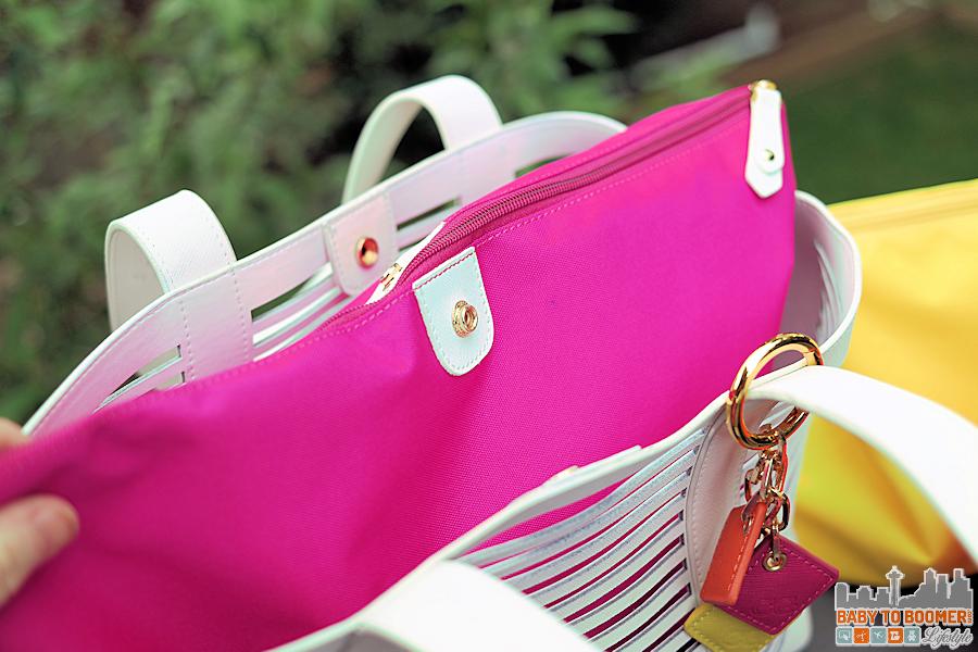 Delia Bag ClaudiaG Pink Insert ad