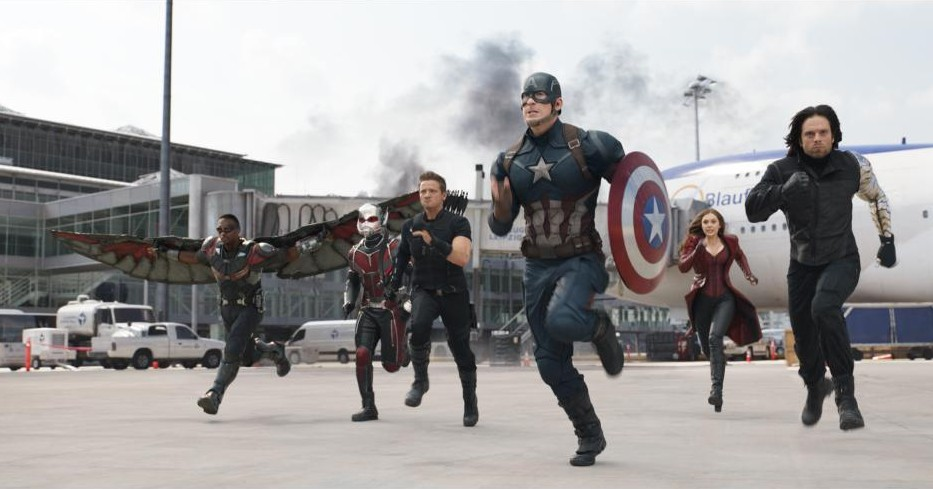 Captain America: Civil War – Trailers and Cool Movie Products