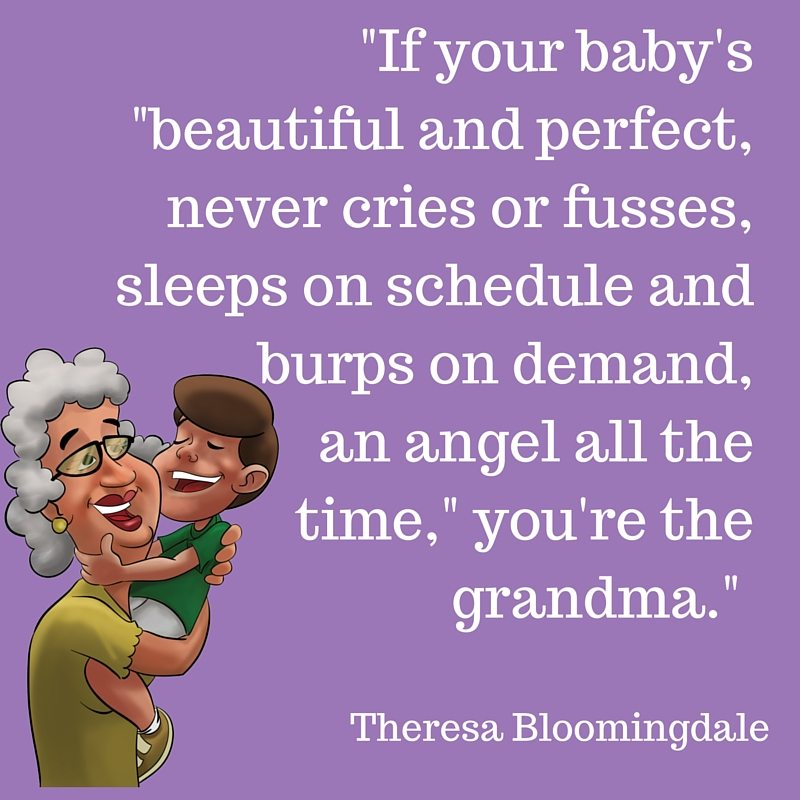 Quotes About Babies Kids And Grandmothers