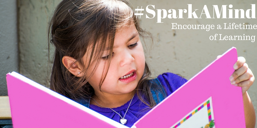 Houghton Mifflin Harcourt #SparkAMind Encourages a Lifetime of Learning