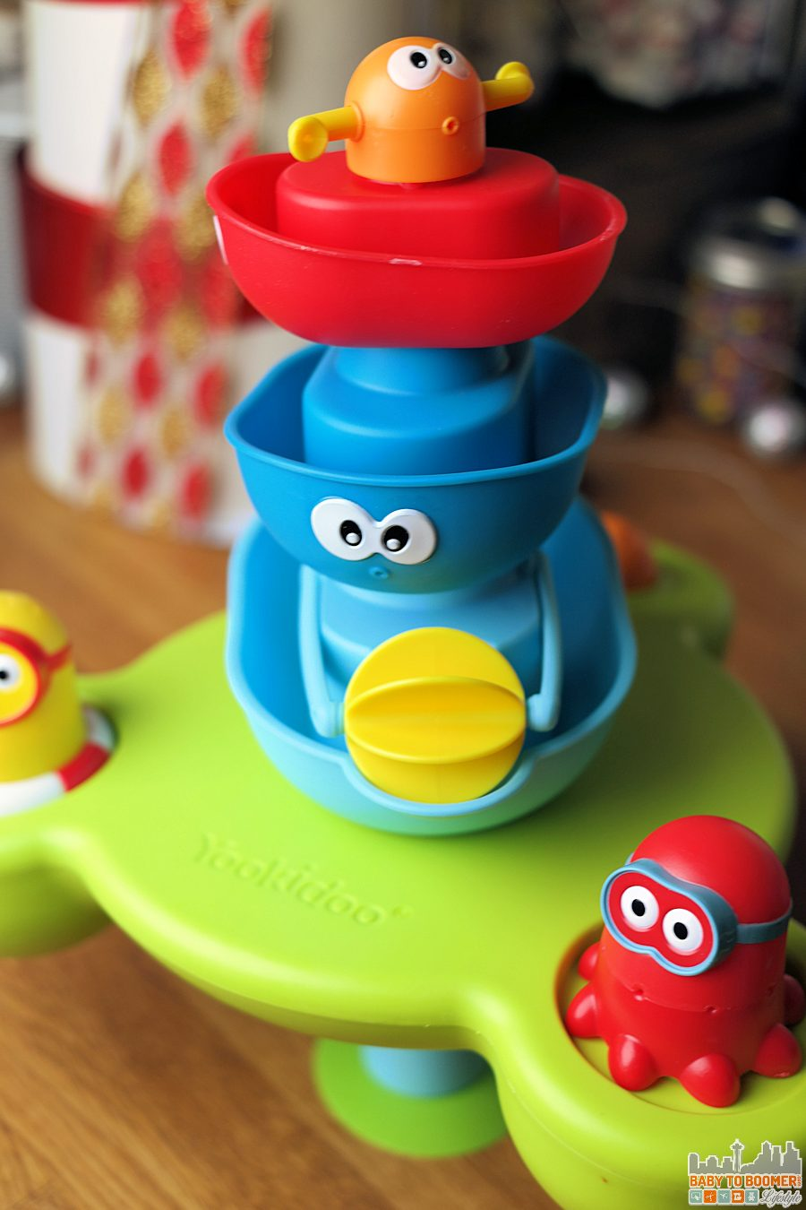 Bathtime Fun! Yookidoo Stack 'N'Spray Tub Fountain ad