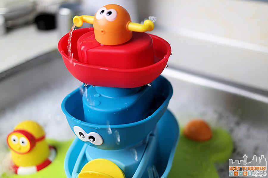 Bathtime Fun! Yookidoo Stack'N'Spray Tub Fountain ad