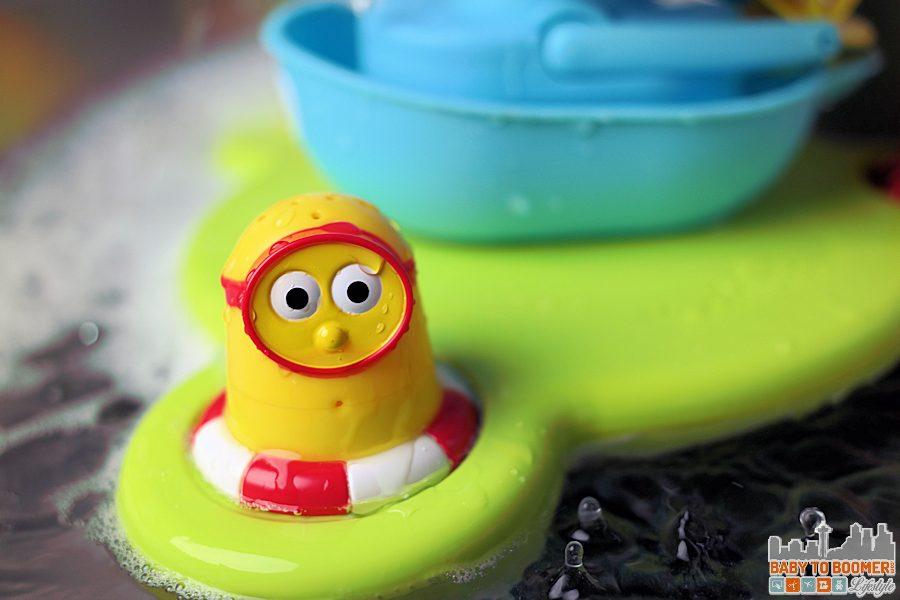Yellow Character - Bathtime Fun! Yookidoo Stack 'N'Spray Tub Fountain ad