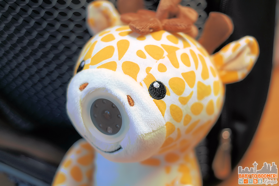 Zooby Giraffe -Zooby Portable Video Baby Monitor: For Home or On the Go ad