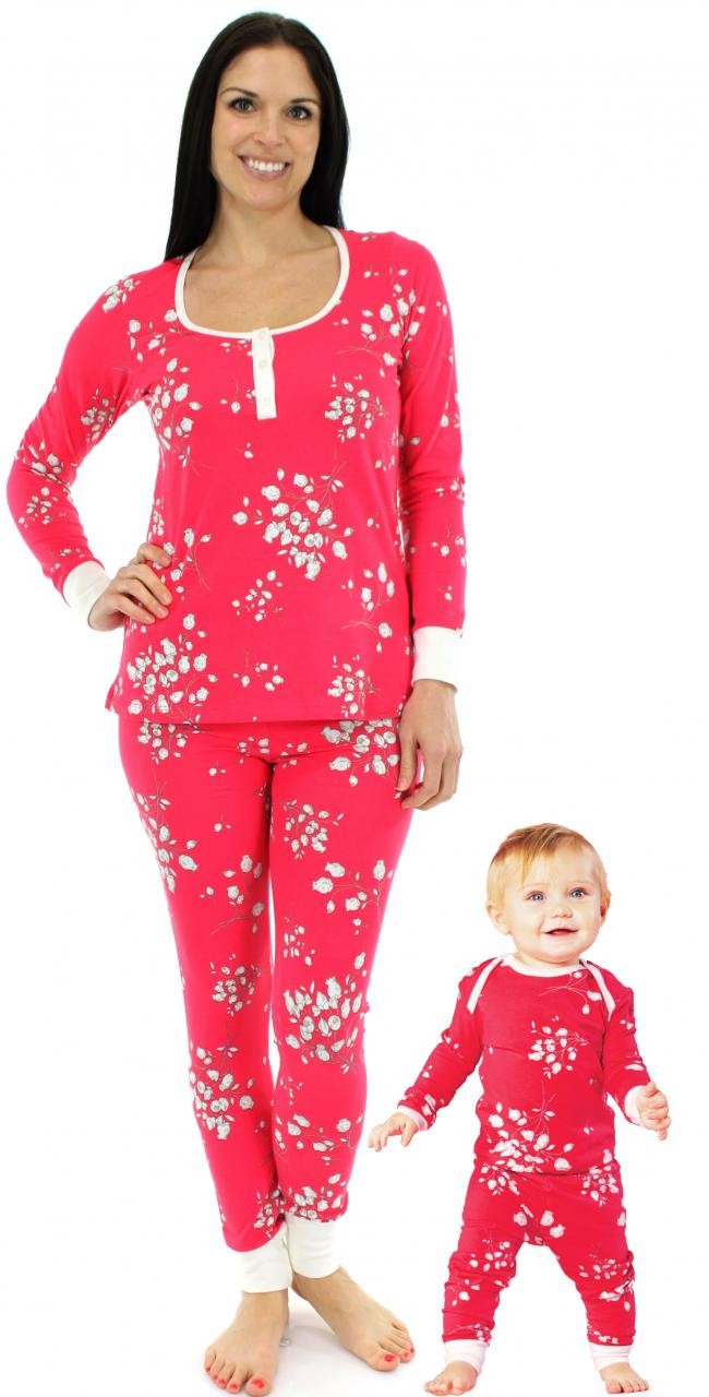 Matching Family Pajamas - Spring & Summer, Mommy & Me, Daddy & Me - Great for a Girl's Weekend, Camping, Easter, bridal party,