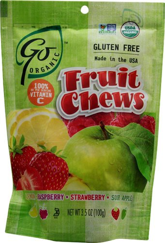 GoOrganic Candy  - Hard or Chews, Just Naturally Delicious! ad